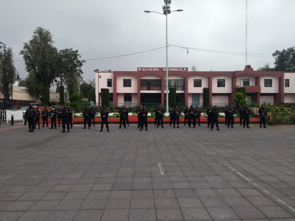Refuerzan seguridad en Xochimilco con 25 elementos de la SSC