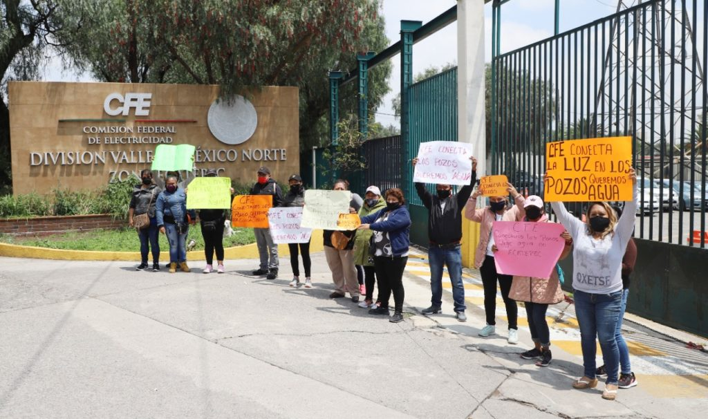 CFE deja sin agua a 300 mil habitantes de Ecatepec en plena pandemia por Covid-19