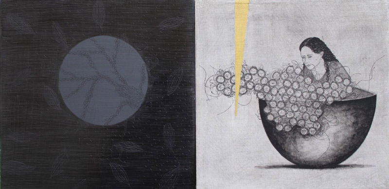 Arte y tradición se mezclan en los trabajos de la creadora Argelia Matus