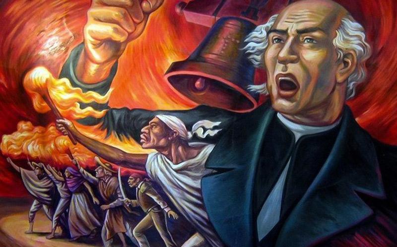 Lista Miguel Hidalgo para dar el grito de independencia virtual