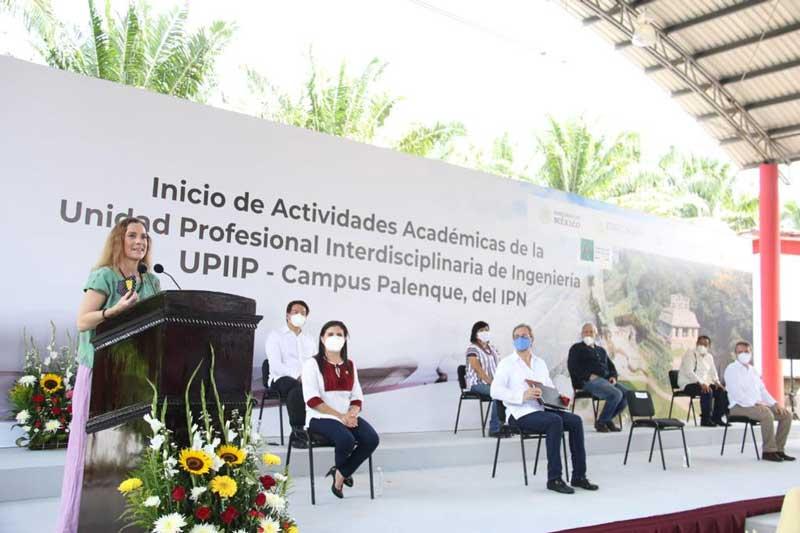 Inauguran Unidad Profesional del IPN en Palenque