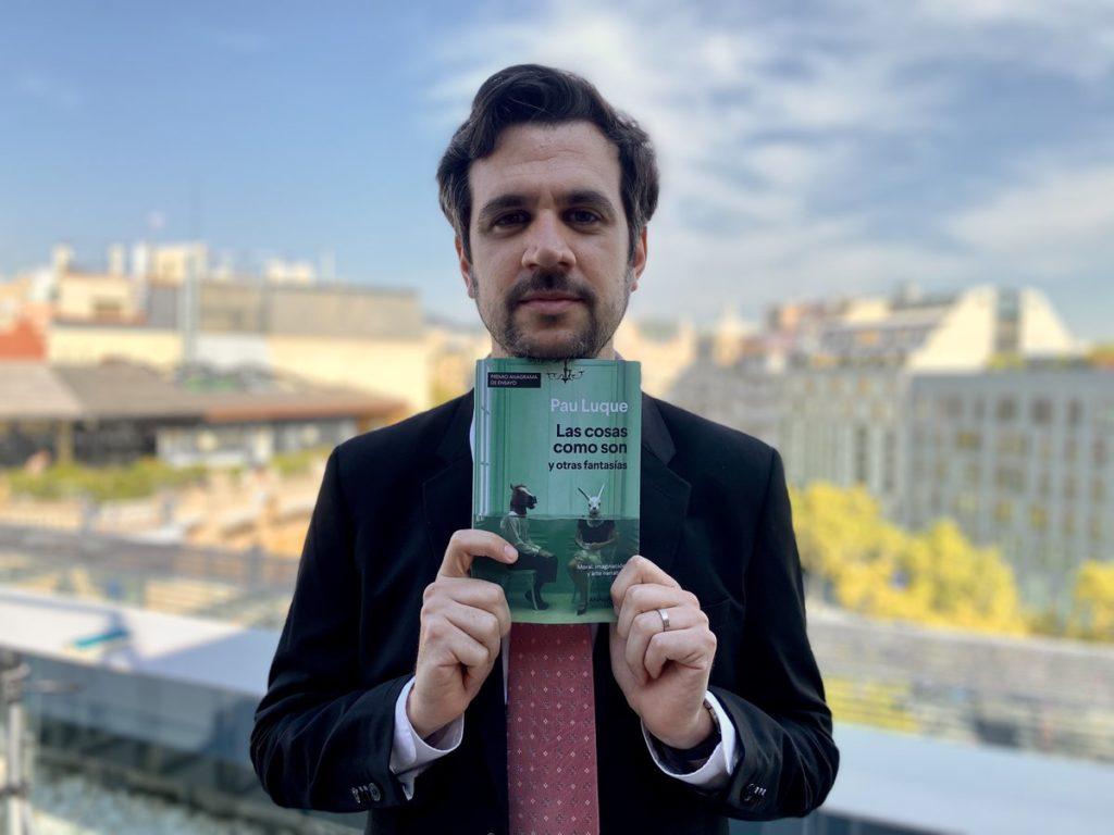 Pau Luque gana el Premio de Ensayo Anagrama por sus contribuciones al arte y la moral