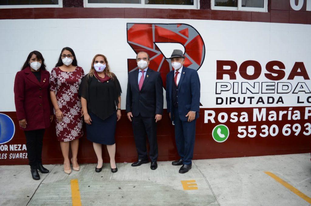 La diputada local Rosa María Pineda se suma a la bancada de MORENA