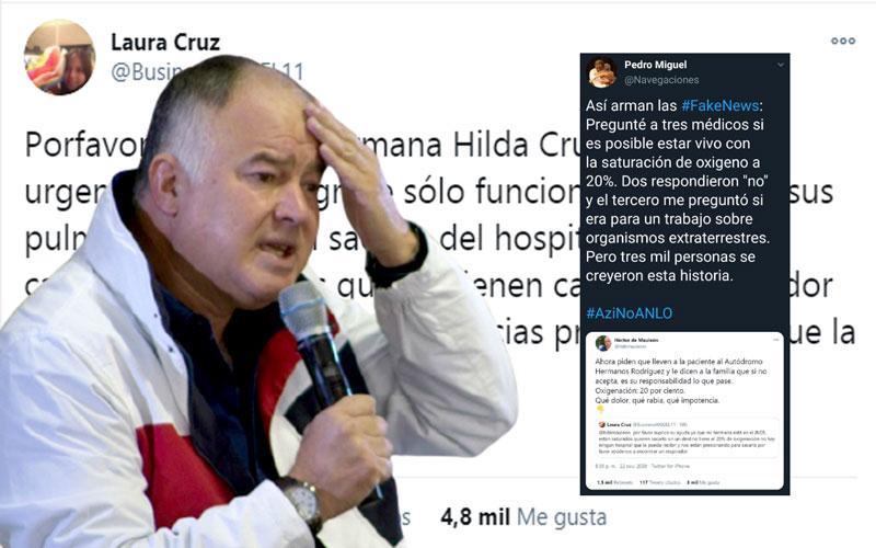 Exhiben a Héctor De Mauleón por propalar fake news en Twitter