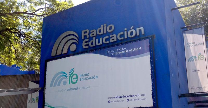 En Radio Educación, se trabaja