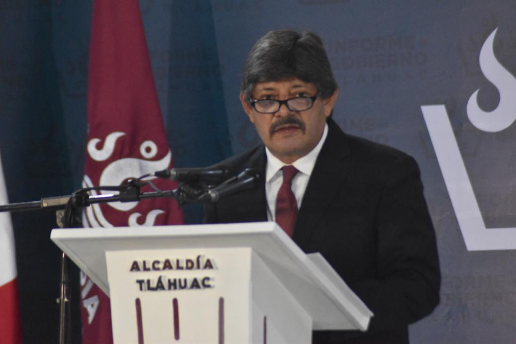 Raymundo Martínez Vite rinde su segundo informe de labores