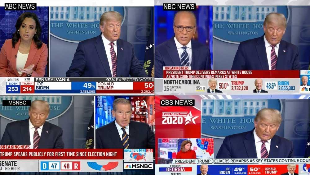 Donald Trump, televisoras y libertad de expresión en 2020