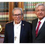 Hoy conversé con un auténtico cristiano: López Obrador