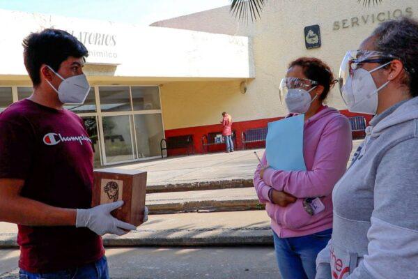 El cremador más jóven de Xochimilco