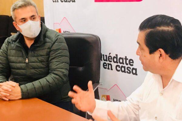 Ecatepec y Neza acuerdan alianza de municipios para compra masiva de vacunas contra Covid-19