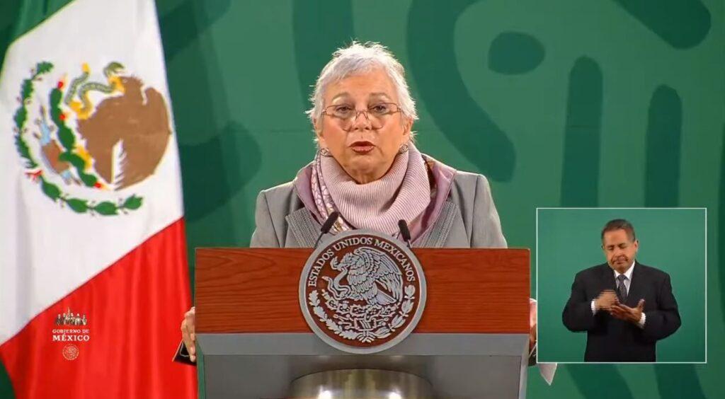 La salud del Presidente es buena y él está optimista, afirma Sánchez Cordero