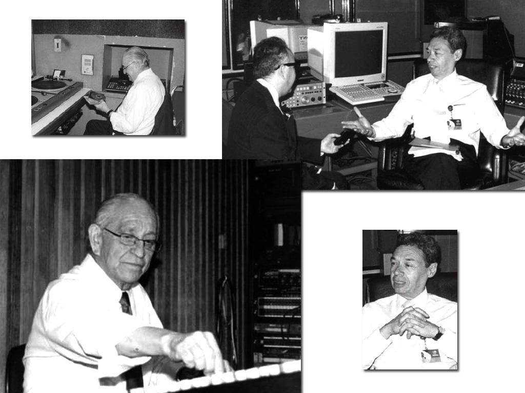Los pioneros de la radio, Pablo O'Farril y Vicente Morales