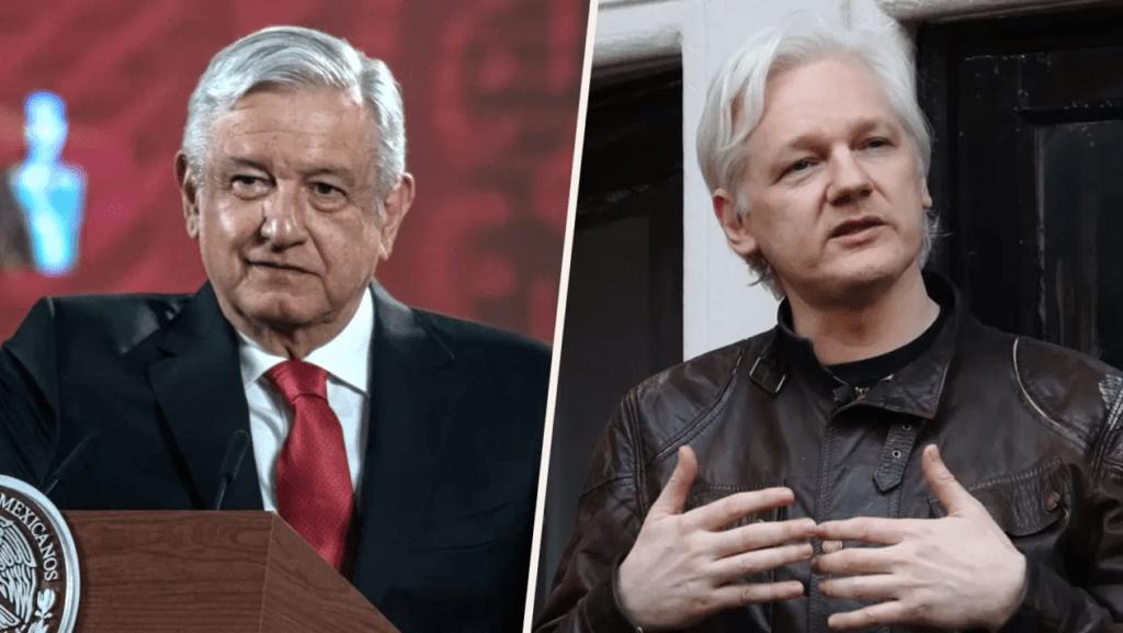 Presidente López Obrador ofrece asilo político a Assange, Gran Bretaña rechaza extraditarlo a EU