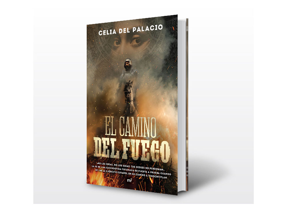 """Con """"El camino del fuego"""", Celia del Palacio despierta la sensibilidad femenina prehispánica nacional"""