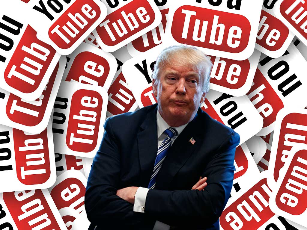 YouTube se suma a Facebook, Instagram y Twitter tras suspender cuenta de Donald Trump