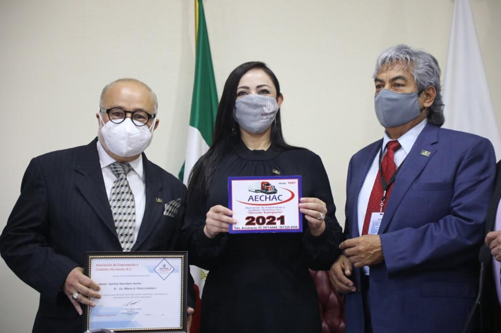 Respalda Patricia Durán nombramiento de Marco Lambarri como presidente de  AECHAC