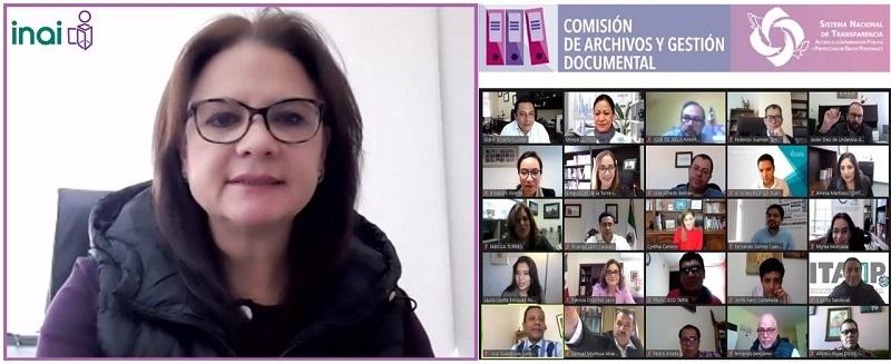 Comisión de archivos del SNT acuerda acciones para consolidar Gestión Documental y Organización de archivos en el país