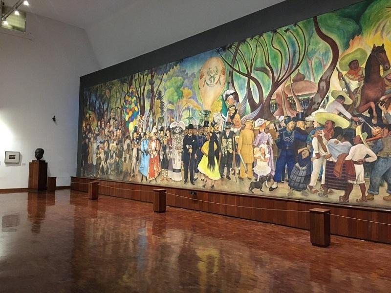 Reconstruyen la memoria del Museo Mural Diego Rivera en su 33 aniversario