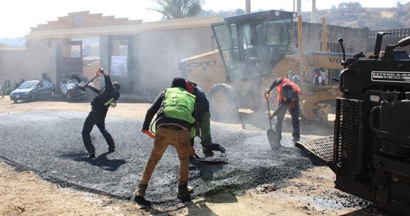 Inicia pavimentación del camino a la Universidad Pública Naucalpense