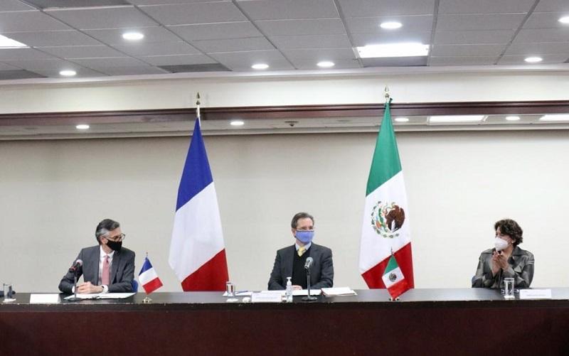 Firman SEP y Embajada de Francia en México convenio de colaboración en Educación Básica, Media Superior y Superior