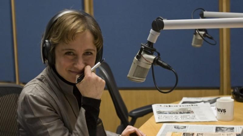 Aristegui regresa a televisión abierta a partir del 1 de marzo