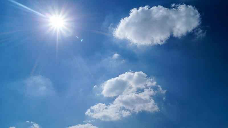 La SGIRPC pronostica este lunes una temperatura máxima de 27°c y cielo medio nublado