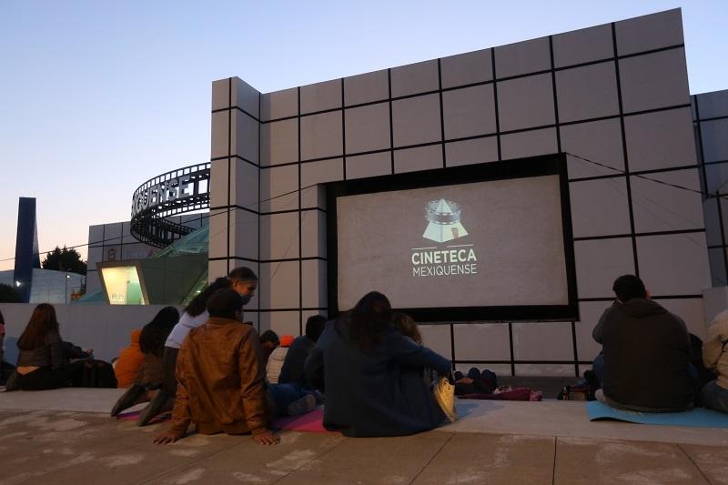 Invita Secretaría de Cultura y Turismo a disfrutar funciones de séptimo arte al aire libre en la Cineteca Mexiquense