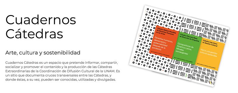 CulturaUNAM presenta la colección Cuadernos Cátedras