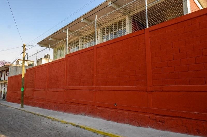 El gobierno de Coacalco continúa con el mejoramiento de la infraestructura educativa