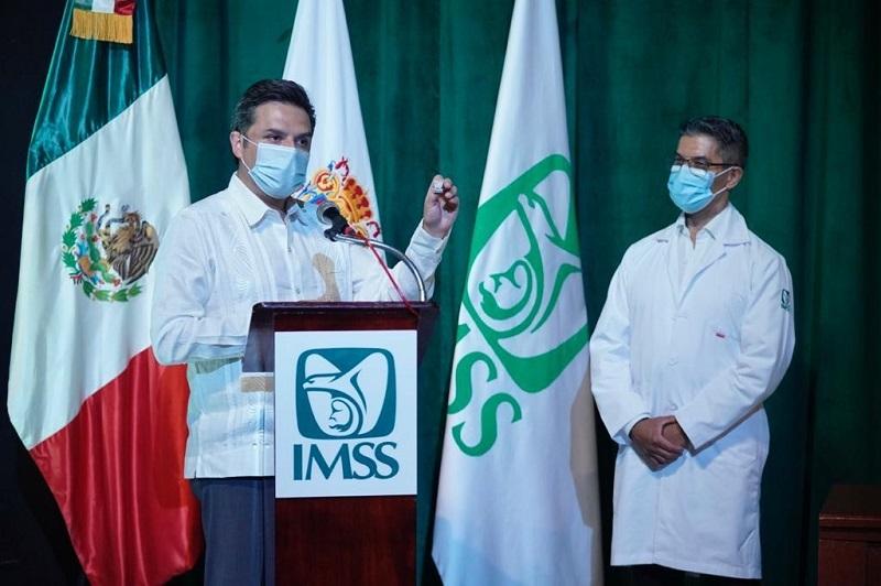 Con instituciones de arraigo social y servidores con alto sentido del deber se ha atendido la pandemia de COVID-19: IMSS