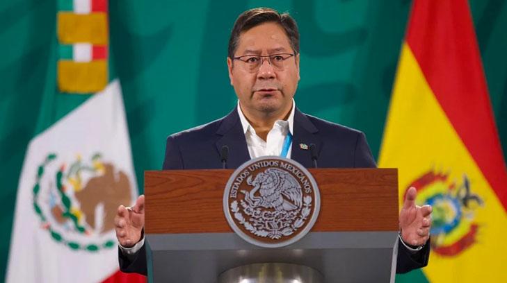Luis Alberto Arce Catacora, presidente de Bolivia, visita México