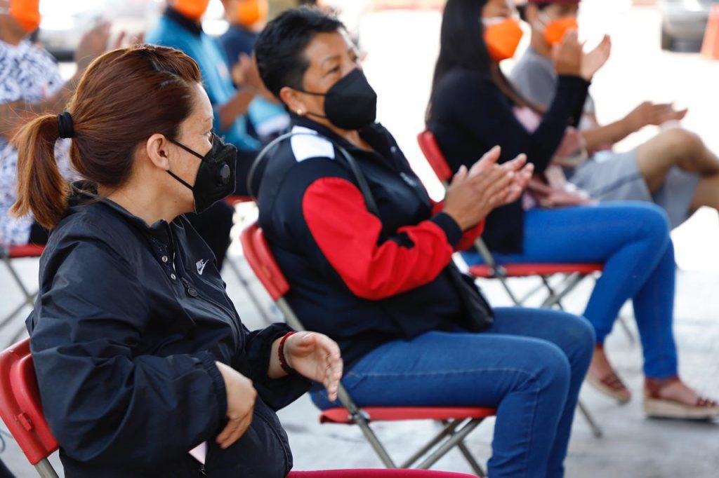 """Tlalnepantla entrega apoyos del programa """"Reconociendo Mujeres"""""""