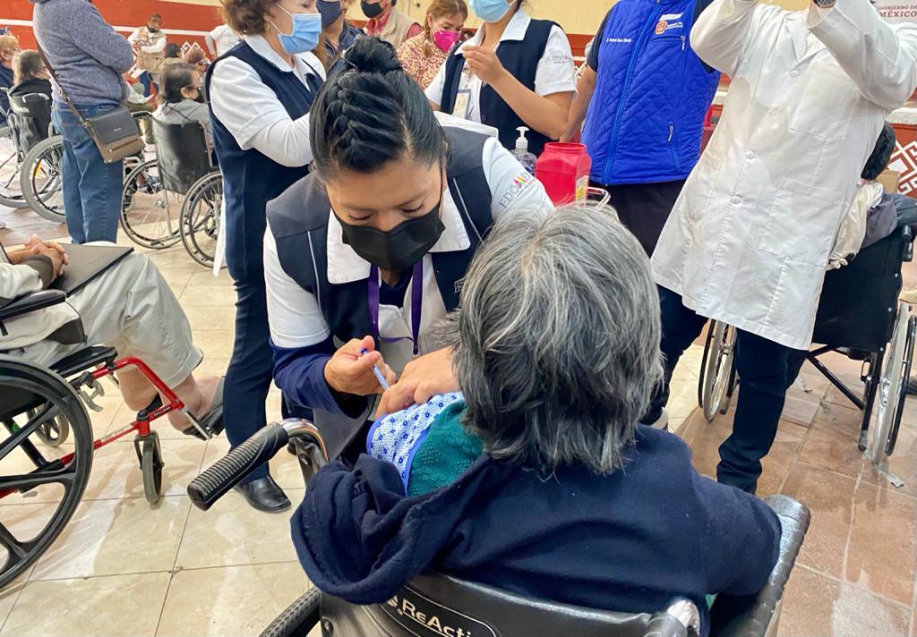 Inicia vacunación contra COVID-19  en La Paz, Edo. Mex.