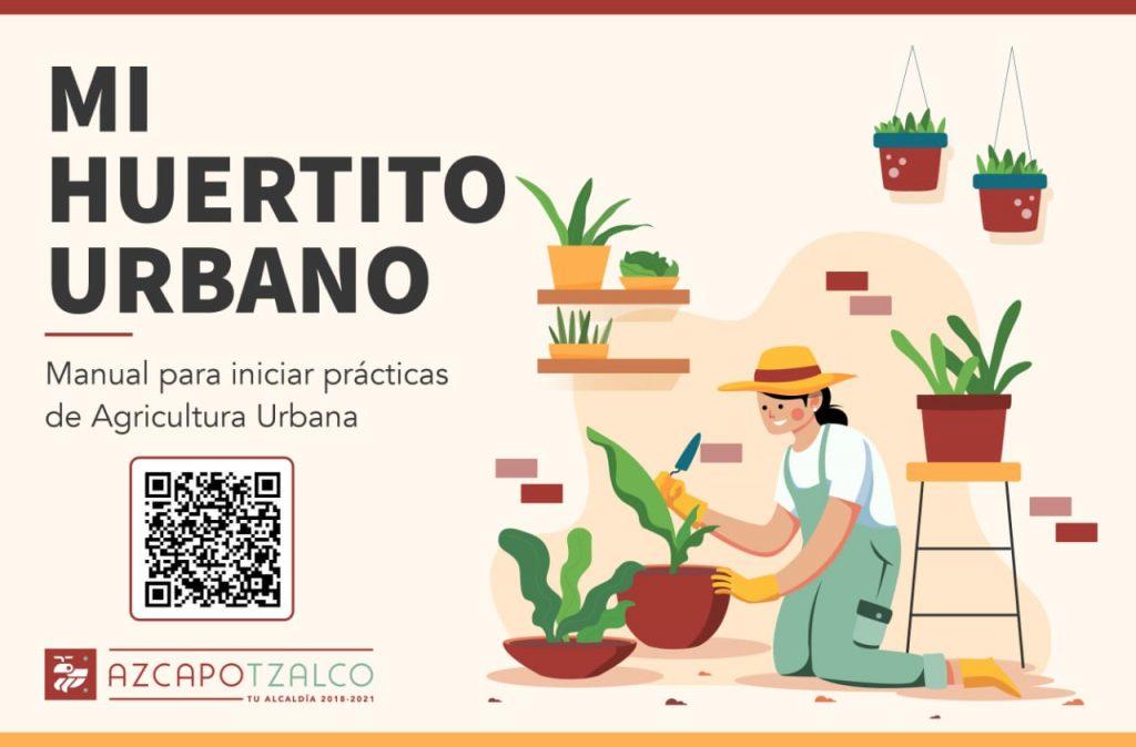 """Azcapo"" lanza manual digital para cultivar huertos urbanos"