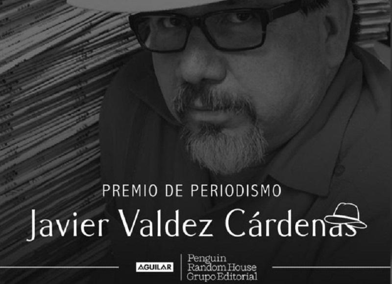 Premio de periodismo Javier Valdez Cárdenas 2021