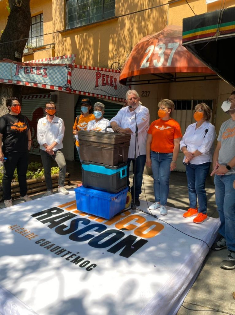 Es indispensable devolver el control de la alcaldía Cuauhtémoc a la gente: Rascón Córdova