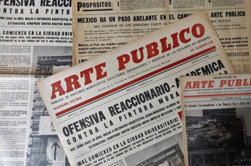 "Revive revista ""Arte Publico"" de Alfaro Siqueiros"