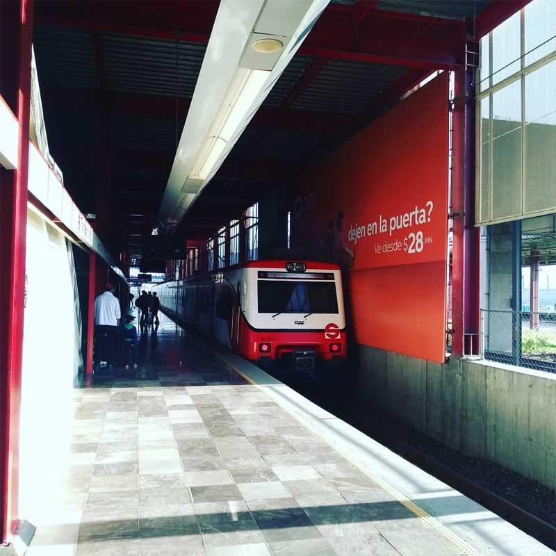 Tren Suburbano aumenta sus tarifas a partir de este domingo