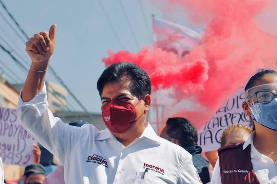 Va Francisco Chíguil por Morena en la GAM, inicia campaña rodeado de vecinos