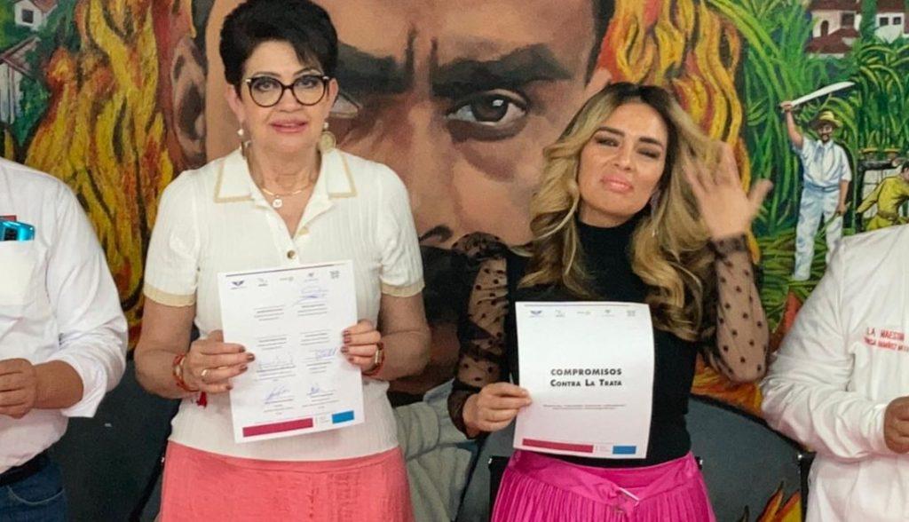 PTCDMX y Karla de la Cuesta buscan erradicar la trata de personas
