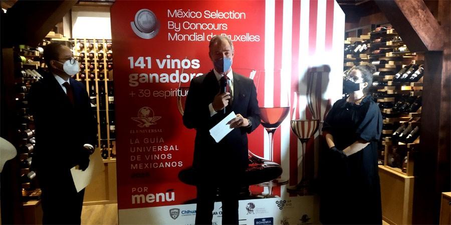 Tres Raíces gana un oro y dos platas en el México Selection by Concours Mondial de Bruxelles 2020