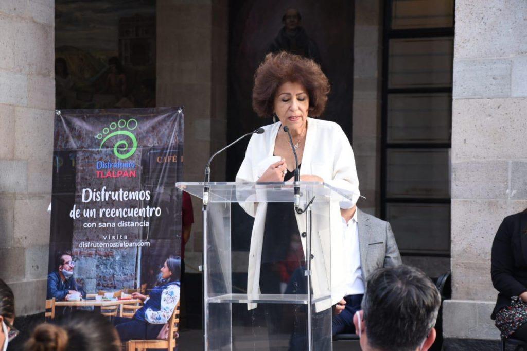 Alcaldesa de Tlalpan responde ante declaraciones de Adame