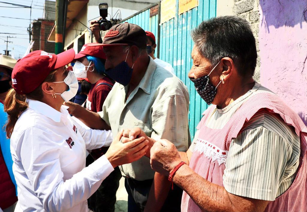 Judith Venegas se compromete a mejorar movilidad en Milpa Alta