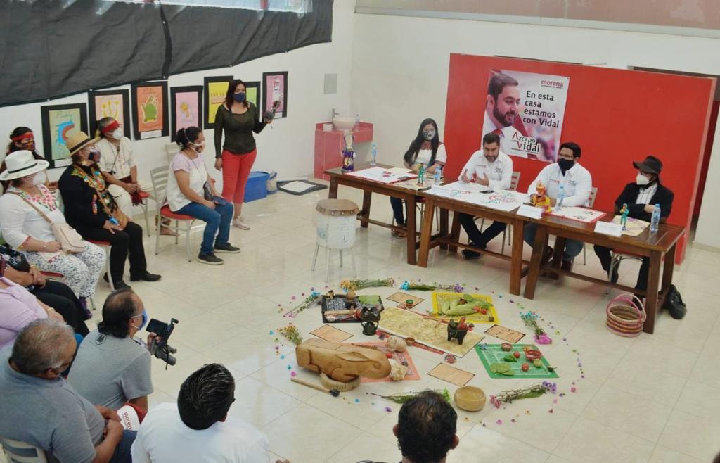 Se compromete Vidal Llerenas en el Fortalecimiento de Identidad Cultural de Azcapotzalco