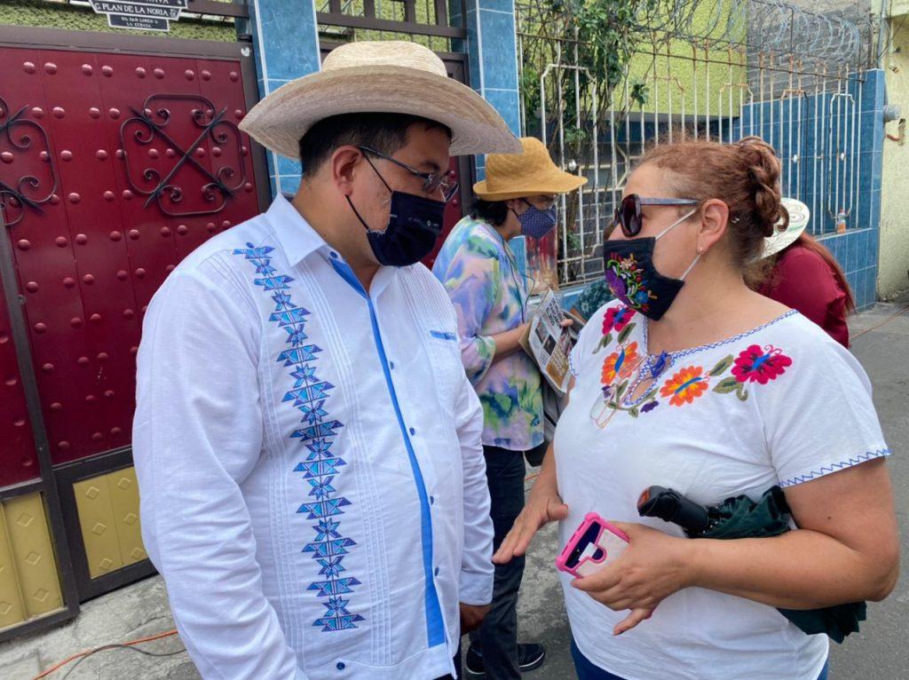 Candidatos de MORENA en Xochimilco proponen buzón ciudadano para quejas