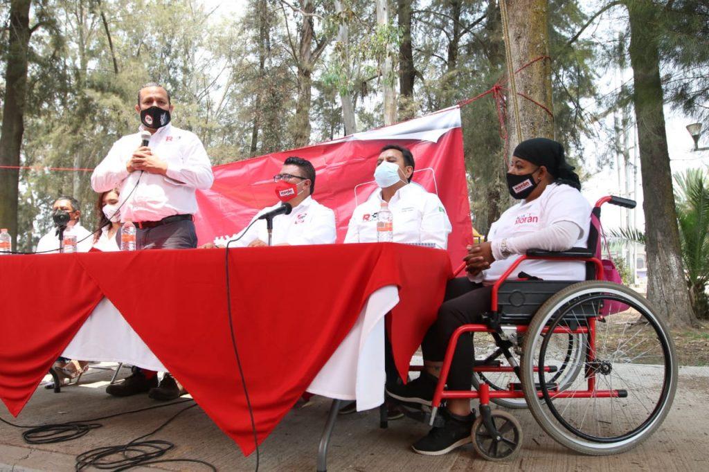 RSP es inclusivo y acabará con analfabetismo en Tláhuac: Antuñano