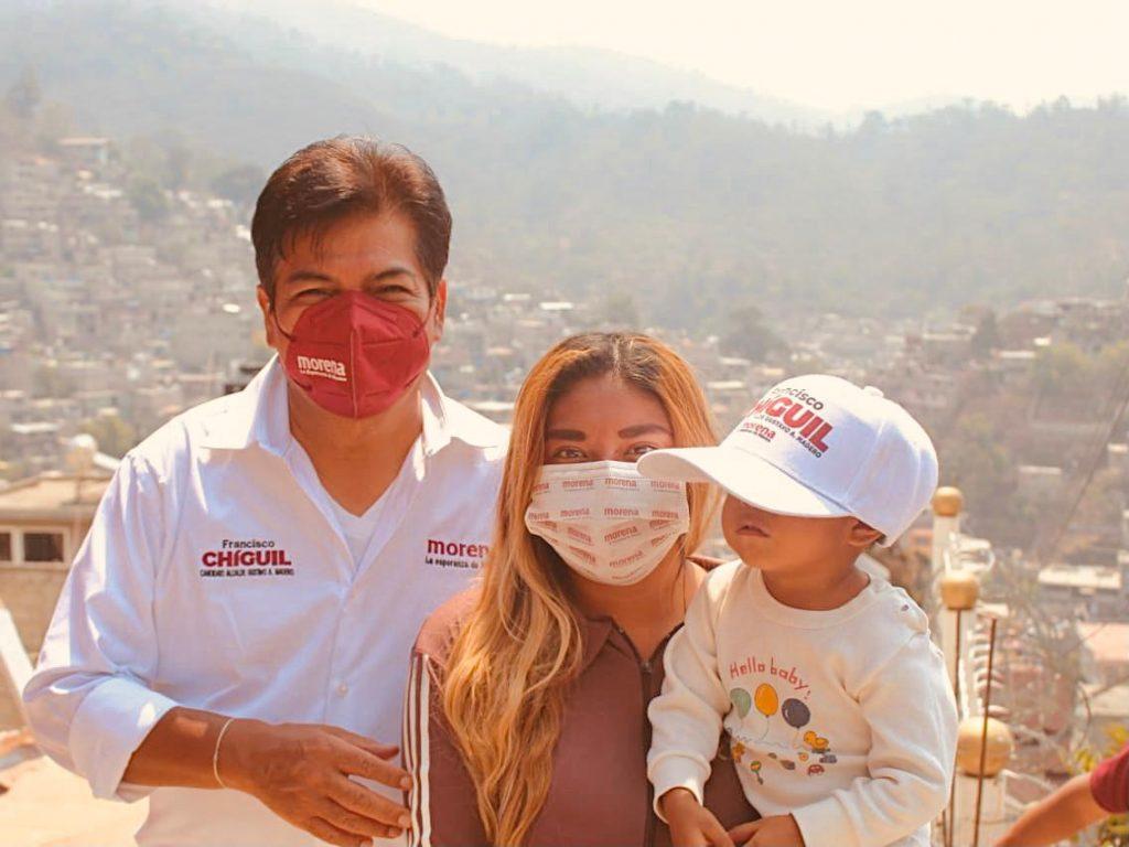 Recuperar la confianza para conocer la problemática de la población: Chiguil