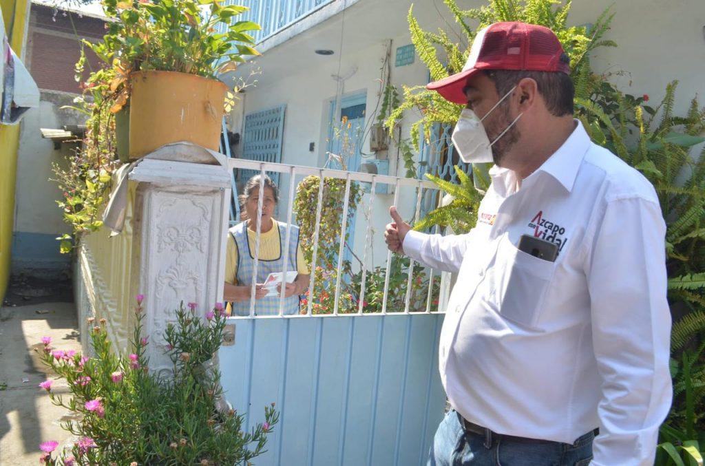 Invertirá Vidal Llerenas en seguridad con video vigilancia, drones y senderos seguros
