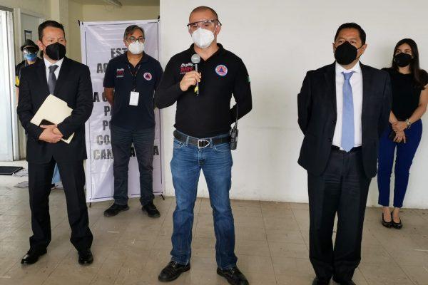 Inicia alcaldía MH capacitación  contra desastres en sus 19 mercados