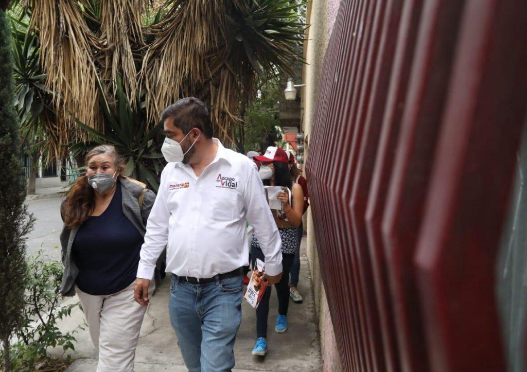 Habrá continuidad y se priorizará la política de movilidad en Azcapotzalco: Vidal Llerenas